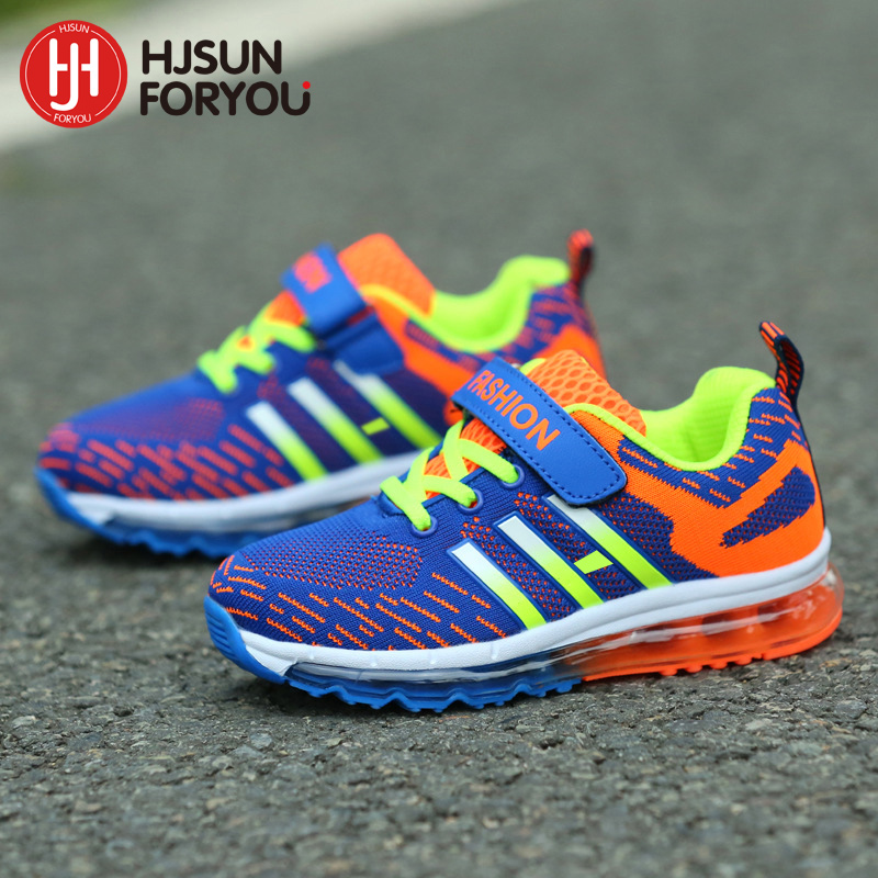 2019 New Hot Children Shoes Brand Mesh Outdoor Sneakers Fashion Breathable Sports Shoes Boys Girls Casual Running Shoes