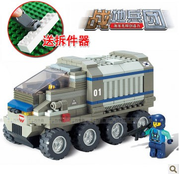 WOMA J5619 Armoured Tank Plastic Building Block Sets 271pcs Educational DIY Bricks Toys for children