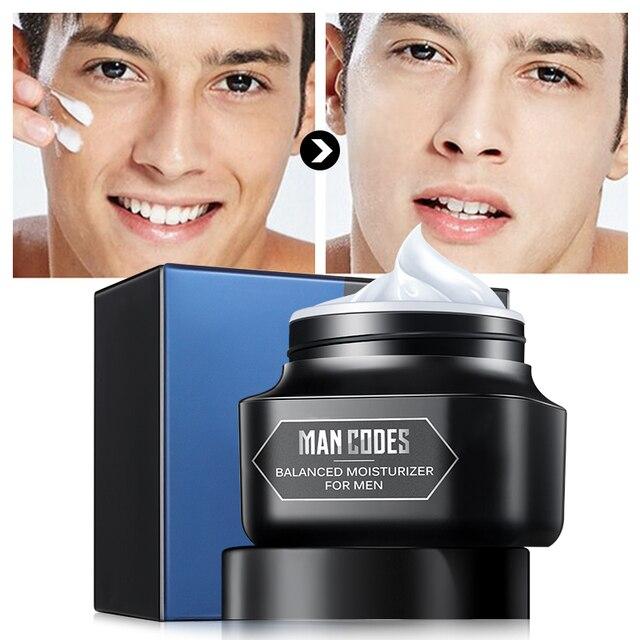JOYCODES 50g Erkekler Anti-Aging Yüz Kremi Hyaluronik Asit Nemlendirici Yüz Kremi Kırışıklık Karşıtı Beyazlatıcı Gündüz Kremi Erkekler Için