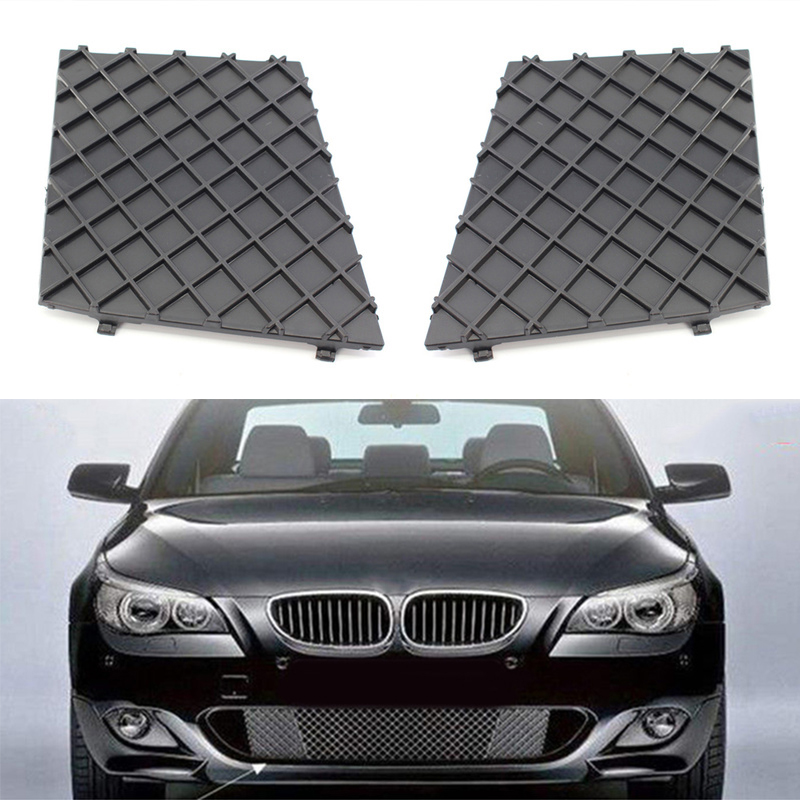 Image 4 - Cars Front L/R Bumper Covers Lower Mesh Grille Trim For BMW E60 E61 M Sport New-in Front & Radiator Grills from Automobiles & Motorcycles