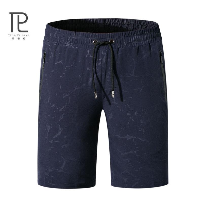 Tailor Pal Love Shorts Men Beach Summer Print Bermuda Masculina Men Short Cargo Homme Mens Board Shorts Elastic Plus size #b48