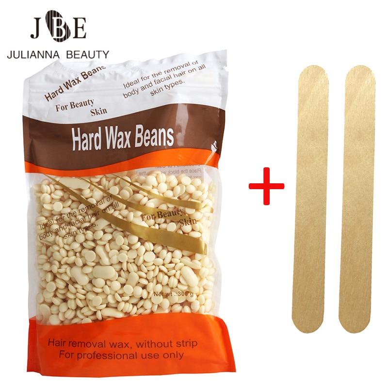 1 X 300g Depilatory Hair Removal Solid Genuine Wax Beans Hot Wax font b Shaving b