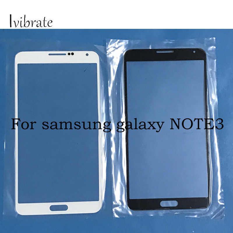 Para Tela de Toque samsung galaxy note3 note 3 N9008V N9008S N9006 N9009 Digitador painel de Vidro TouchScreen Sem Cabo Flexível