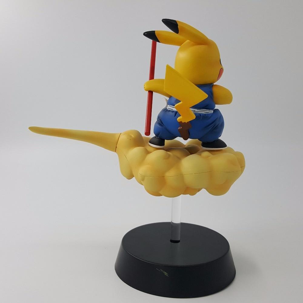 Figuras de Ação e Toy pikachu figura super saiyan pvc Grau de Completude : Produtos Acabados