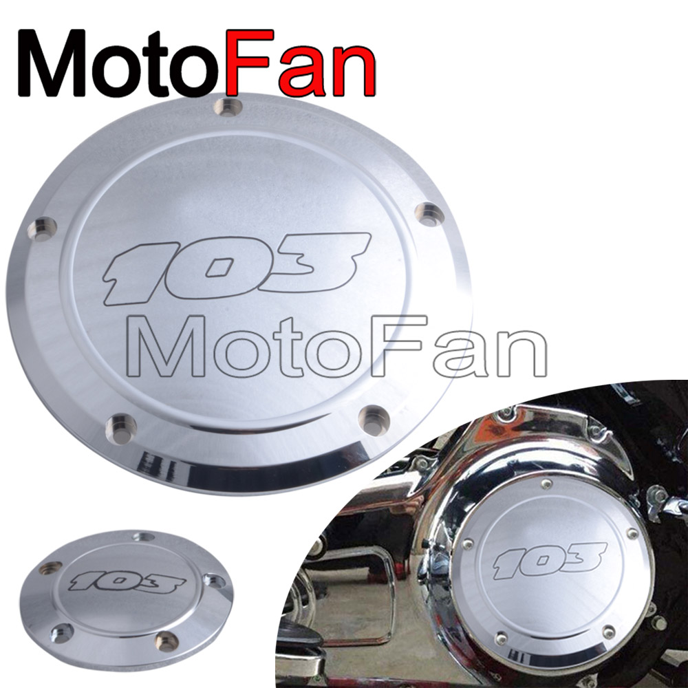 Chrome Motorcycle 103 Derby Timing Cover Timer Covers Custom for Harley Davidson Heritage Blackline Softail FXS Fat Boy FLSTF motorcycle voltage regulator rectifier for harley davidson heritage softail 1450 classic flstc1450 2001 2006 model 74610 01