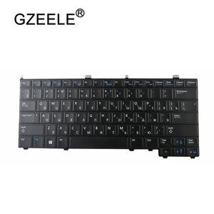 Image 3 - RU backlight NEW for DELL for Latitude E7440 E7240 russian laptop Keyboard with backlit keyboard