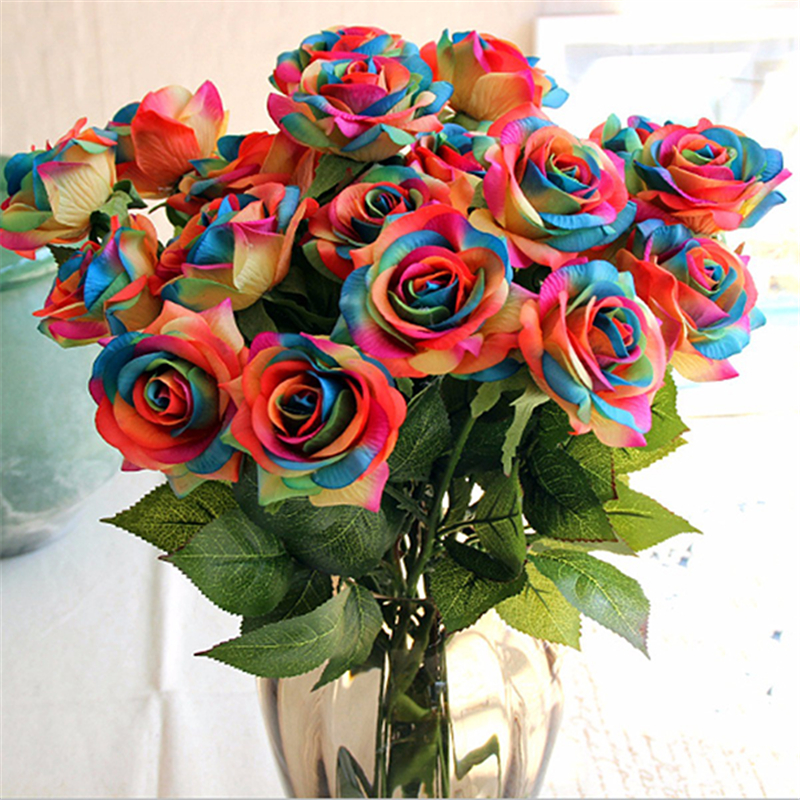 Compare Prices on Rainbow Wedding Flowers Online ShoppingBuy Low