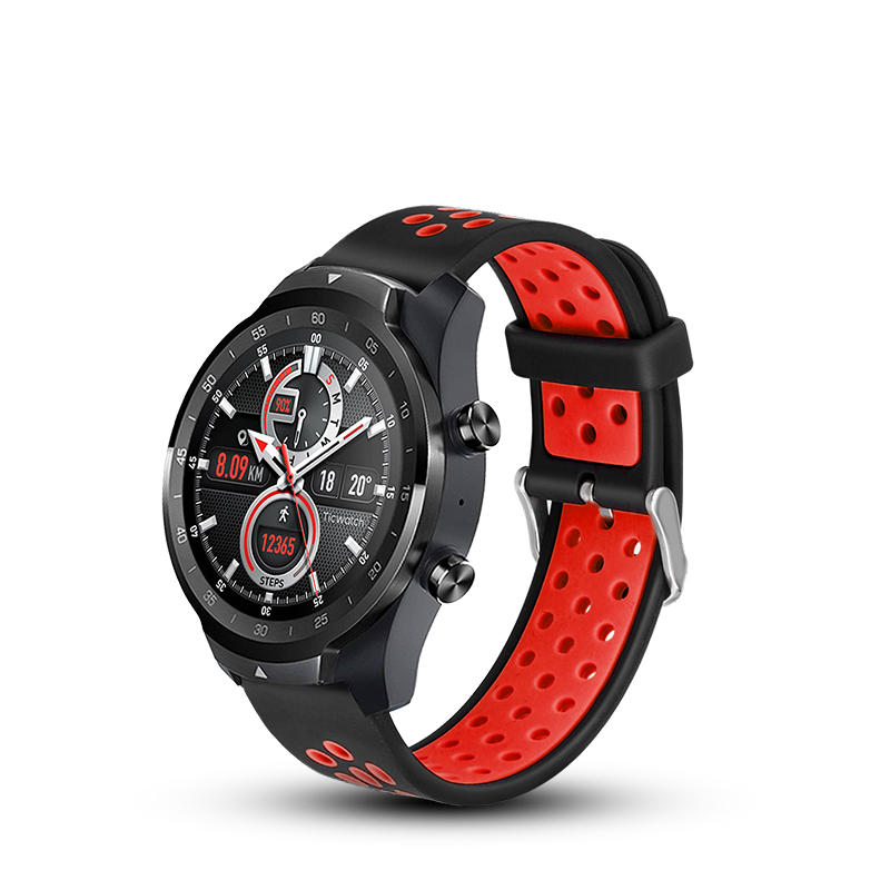 Silicone bands For Ticwatch 1 / 2 / Ticwatch pro strap Colorful Ticwatch E Sports Sport Band strap