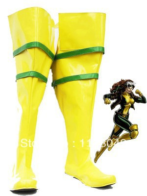 X-men Rogue Superhero Boots
