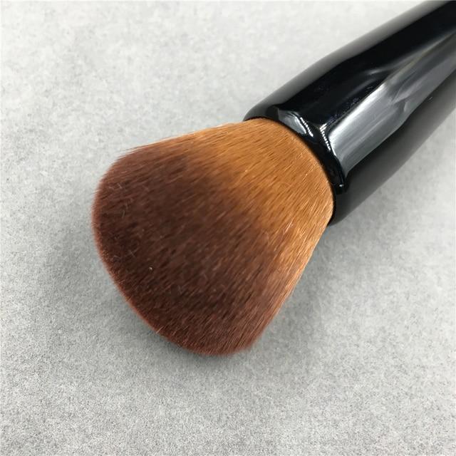 Powder Makeup Brush Wood Handle Dense Soft Round Bristle Full Coverage Face Powder Brushes Blush Contour Brush Make up Tool 5