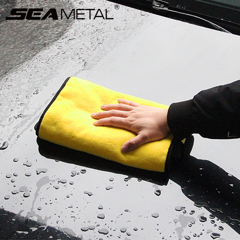 Car Wash Accessories 30*30cm Car Wash Microfiber Towel