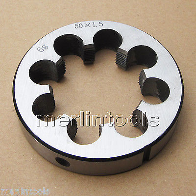 50mm x 1.5 Metric Right hand Thread Die M50 x 1.5mm Pitch 52mm x 2 metric right hand thread die m52 x 2 0mm pitch