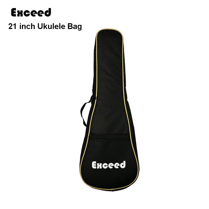 21 inch Soprano Ukulele waterproof guitar cover gig Bag Soft Case Light Gear Black Uke Ukelele guitarra