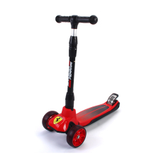 Adjustable Height Outdoor Playing Bodybuilding Scooter Toy PU wheel Mini Kick kids