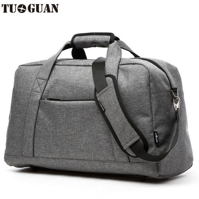 Tuguan Canvas Travel Bag 20 35l Fashionable Duffle Bags Waterproof Designer High Quality