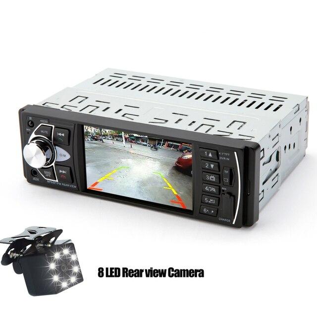 Hippcron Car Radio 1 Din Autoradio 4022D Bluetooth 4 1 Screen Support Rear view Camera Steering