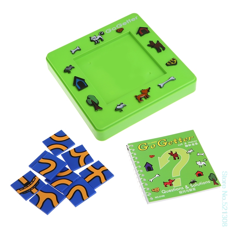 Go Getter Cat And Mouse Toy Board Cartoon Puzzle Maze Intelligence Game Gift TOYS Drop Ship