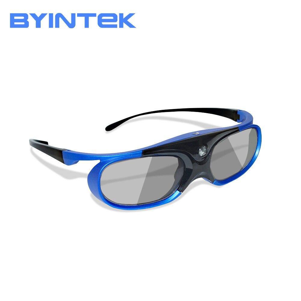 Active DLP Shutter 3D Glasses for BYINTEK DLP 3D Projector UFO R15 R9 R7