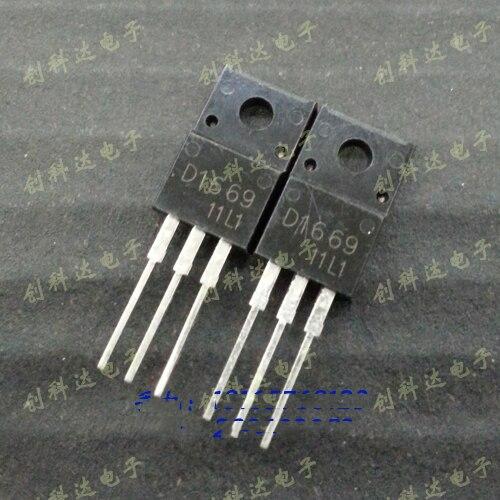 Frete Grátis Lote 2sd1669 D1669 To-220f Darlington Transistor Original Novo 10 Pçs –