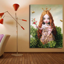 The Tree Of Life By Mark Ryden Art Canvas Poster Oil Painting Wall Picture Print Modern Home Bedroom Decoration Accessories HD