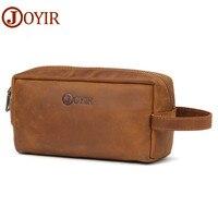JOYIR Genuine Leather Men Business Clutch Bags Wallet Phone Case Cigarette Purse Pouch Long Male Purse Handy Bags Wallets 2018