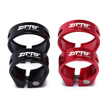Red Black Bike Seat Post Clamp Aluminium Alloy Ultralight Lock Bicycle Seatposts Clamps Bike Seatpost Clip 31.8mm 34.9mm aceoffix 3kcarbon bicycle seat post for brompton bmx bike seatpost 31 8mm 580mm ultralight 230g