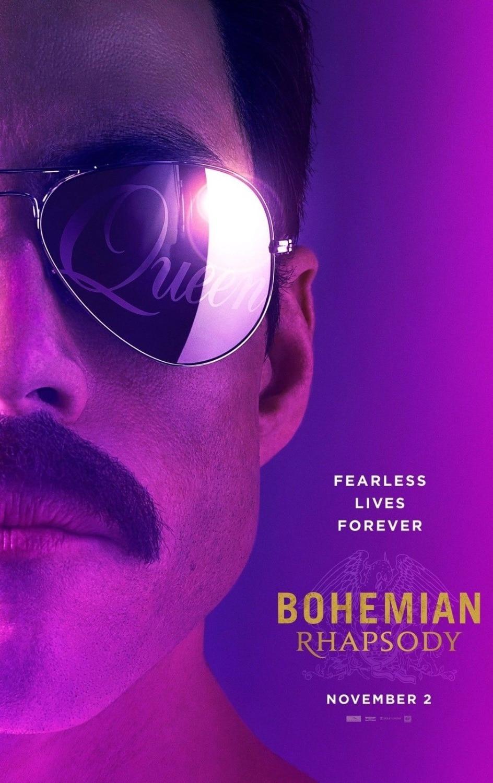 24 x 36 inches Queen Bohemian Rhapsody Rock Music Poster
