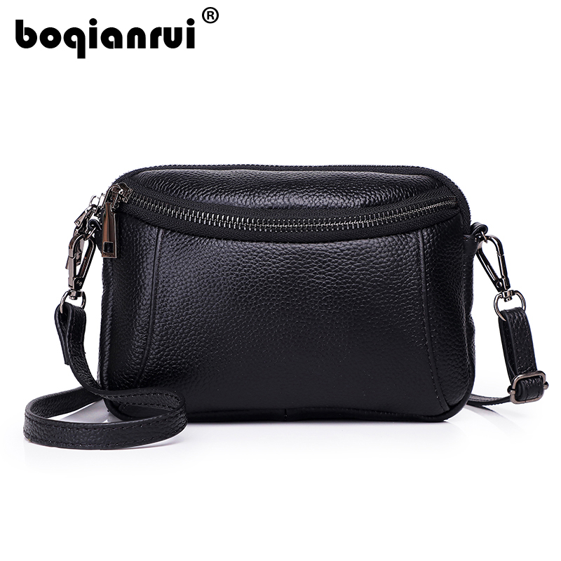 Fashion Women Genuine Leather Messenger Bag Flap Handbag Ladies Small Crossbody Bags Women Famous Brands Designers Shoulder Bags neverout new crossbody handbag women messenger bag cover small flap bags fashion shoulder bags simply style genuine leather bag
