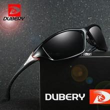 831fcbd9b0 DUBERY gafas de conducción visión nocturna polarizada gafas de sol para  hombres cuadrados deporte marca de lujo espejo sombras O..