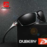 Dubéry lunettes de soleil hommes conduite polarisée Vision nocturne lunettes de soleil pour hommes carré Sport marque luxe miroir nuances Oculos D-120
