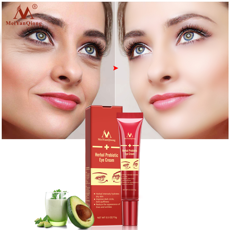 Eye Cream Ageless Anti-Aging Probiotics Collagen for Dark Circles and Eye  Bags Pads under the Eyes