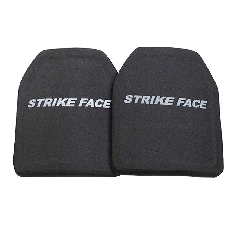 Image 4 - 2pc STA Shooter Cut NIJ III Level Bulletproof Plate Anti ballistic Ceramic PlateSelf Defense Supplies   -