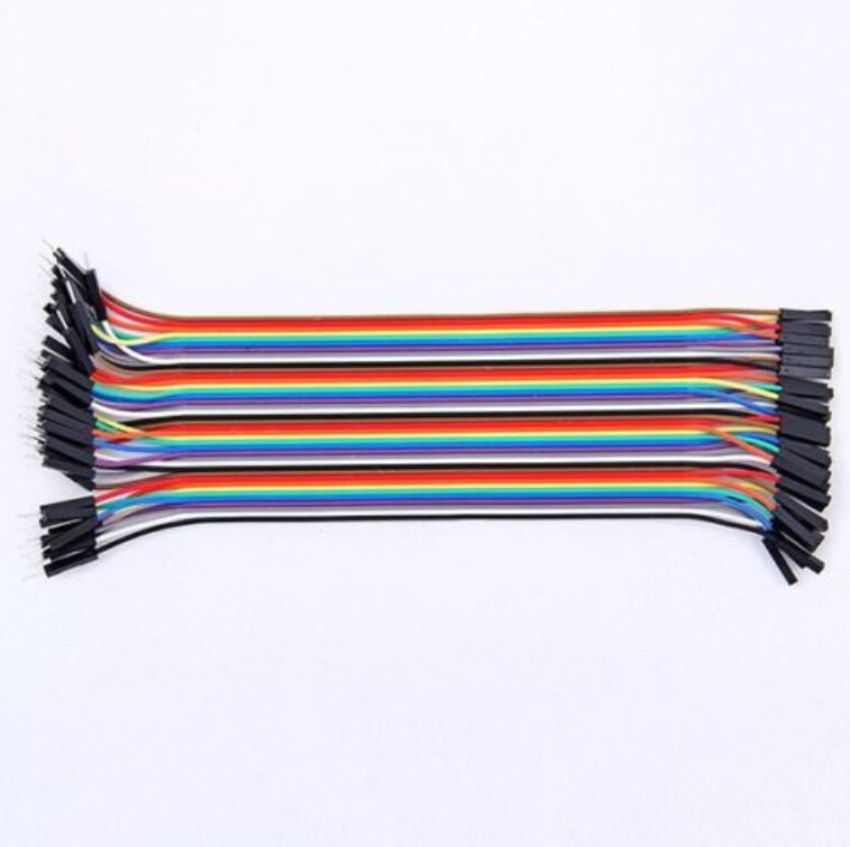 Dupont Jumper wire <font><b>10CM</b></font> 20CM 30CM Male to Male + Female to Male + Female to Female Jumper Wire Dupont <font><b>Cable</b></font> for Arduino image