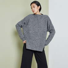 2016 New Spring Casual Knitwear Long Sleeve Solid Color Pullovers Sweater Original Design Female Loose Sweater