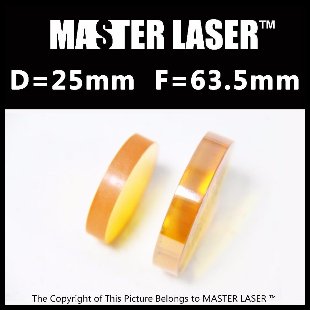 High Power CO2 Laser Focus Lens 25mm 63.5mm for Die Board Laser Cutting Machine hot sales rd 6442 laser controller main board for co2 laser cutting machine