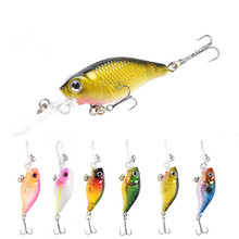 1Pcs/ road lure ABS plastic simulation bait hard bait lure chubby 6CM/4.3g freshwater sea fishing fishing gear  fishing цены