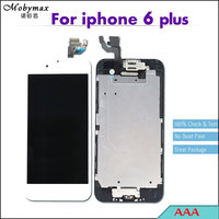 5PCS 100 Check Test AAA LCD Full Assembly For IPhone 6 Plus Touch Screen Digitizer Display