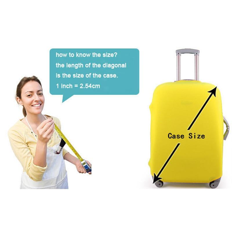 cobrir protetor spandex mala cobrir Acessórios para Viagem : Organizadores para Embalagem