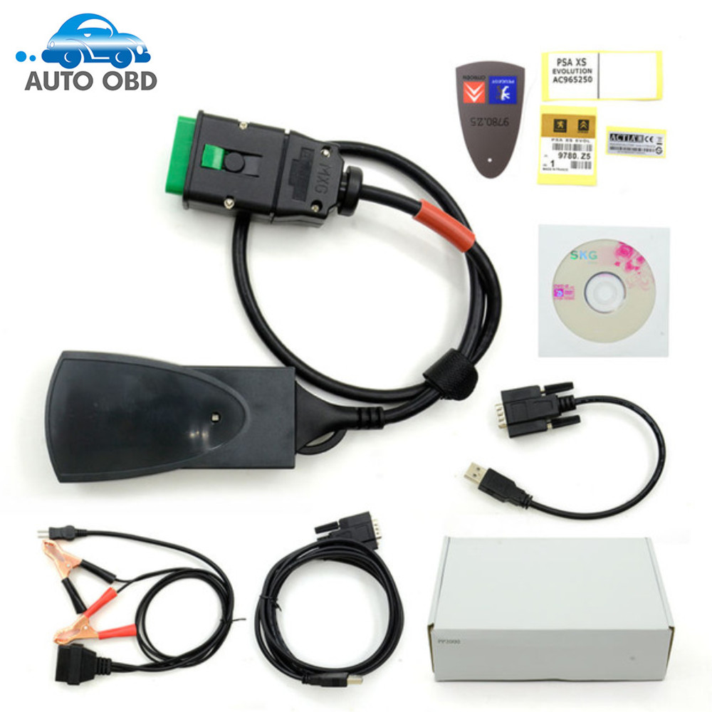 ФОТО Top Quality 921815C Firmware Full Chip Diagbox V7.83 Lexia3 Lexia 3 PP2000 Diagnostic Tool Free Shipping