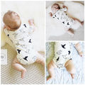 0-24M Newborn Baby Clothes Infant Kids Boys Girls Cute Short Sleeve Bodysuit Summer Toddle Child One-Pieces Clothing