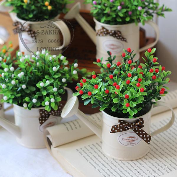 mini bonsai series multicolour artificial flower set home decor simple design