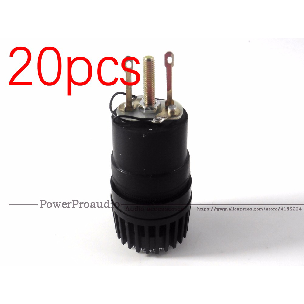 20PCS LOT Wireed Microphone Capsule N 157 Microfone Fits for shure SM57 type mic Replace for