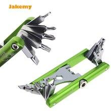 2016 Jakemy bike repair tools Screwdriver, Chain Tool, Wrench repairing Portable tool Bicycle set multitool free shipping