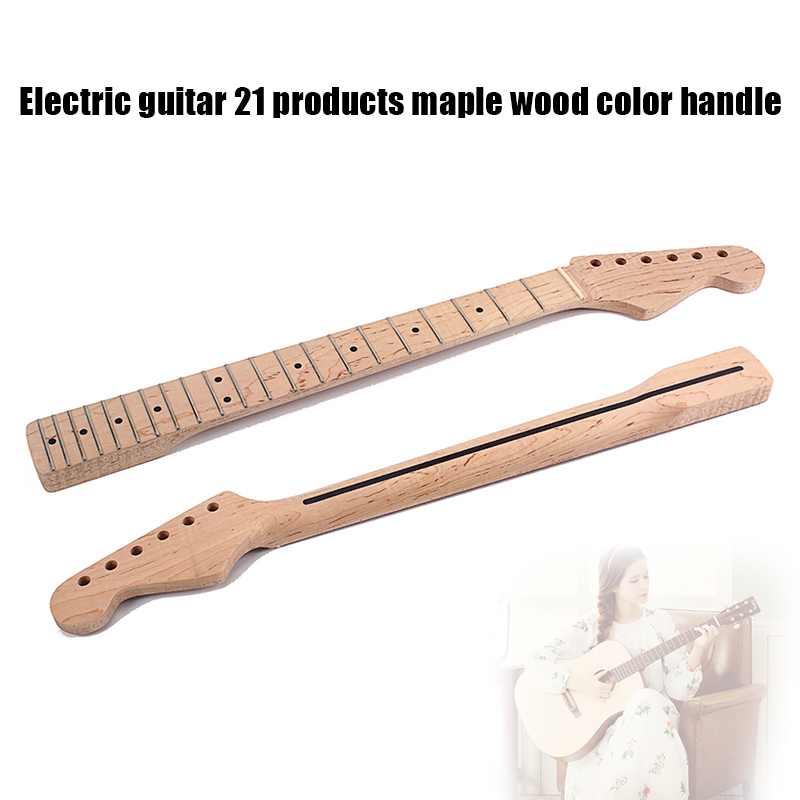 Guitare électrique cou 21 Fret en bois Instrument de musique accessoires de remplacement pour mélomane & T8