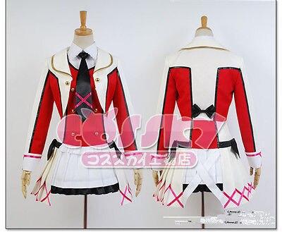 Здесь продается  2015 New Anmie Lovelive!! Eli Ayase Cosplay Costume Clothes Full Set Uniform Dress Any Size  Одежда и аксессуары