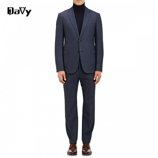 Custom made to men suit, Tailor Made grey wool wedding suits for men slim,classical men wendding customized letters suit for men