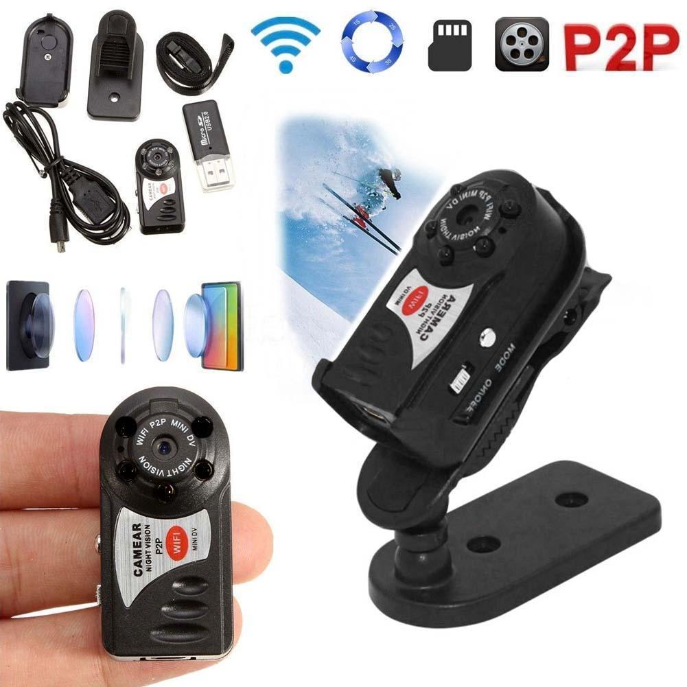 4G Card+Wireless WIFI Q7 Camera Mini P2P DV Video Recorder DVR Night Vision4G Card+Wireless WIFI Q7 Camera Mini P2P DV Video Recorder DVR Night Vision