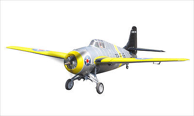 Scale Skyflight 1.2M RC F4F Wild Cat Propeller plane Included KIT RC Airplane Model Yellow все цены