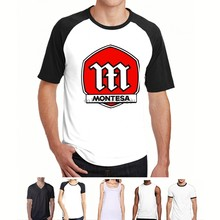 Mannen t-shirt Montesa Motorfietsen Off-road Motocross Nieuwe Tee Shirt t-shirt women1(China)