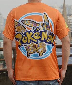 Аниме футболка Покемоны полноценная печать 1